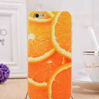 Orange Juicy iPhone 6 Phone Case