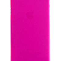 Pink Frosted Transparent Soft Case for iPhone 6 Plus