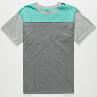 Neff Trifecta Boys T-Shirt Charcoal  In Sizes