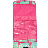 Simply Southern Travel Toiletry Bag - Seahorse Pink