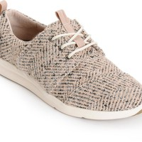 Toms Del Rey Dusty Rose Boucle Womens Shoes