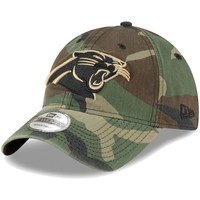 Men's New Era Woodland Camo Carolina Panthers Core Classic 9TWENTY Adjustable Hat