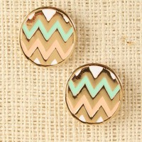 Jagged Path Earrings