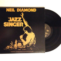 Vinyl Album Neil Diamond The Jazz Singer Original Songs From The Motion Picture LP Record 1980