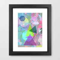 Abstract 5 Framed Art Print by Olivia James