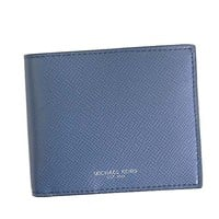 MICHAEL KORS Bifold Coin purse WALLET WITH COIN 39F5LHRF3L SEA BLUE 482