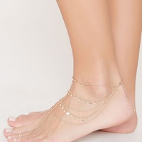 Layered Disc Charm Anklet | Forever 21 - 1000220606