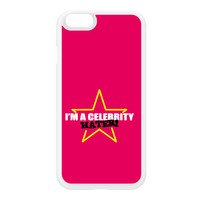 Celebrity Hater White Silicon Rubber Case for iPhone 6 by Chargrilled