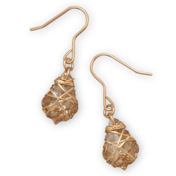 Wrappings Earring {Gold Filled}