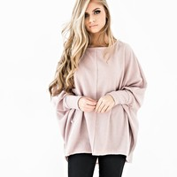 Mink Oversized Sweater - JessaKae