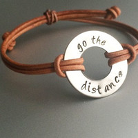Disney Hercules inspired bracelet //  go the distance // Run Disney bracelet