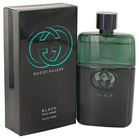 Gucci Guilty Black by Gucci Eau De Toilette Spray for Men