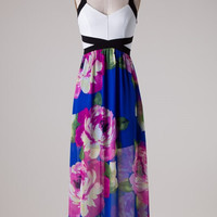 Loving You Maxi Dress - Royal