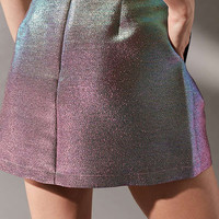 UO Party Glitter Pelmet Skirt | Urban Outfitters