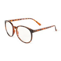 Round Tortoise Shell Frames | Claire's