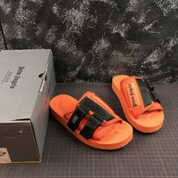 Palm Angels Orange Suicoke Sliders Sandals Slippers Summer Shoes Flip Flop
