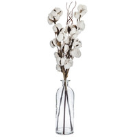 Cotton Stems in Glass Vase | Hobby Lobby | 1394600
