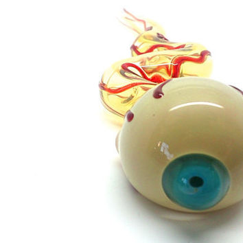 Eyeball - Unique Handmade Glass Pipe