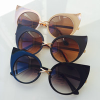Glamorous High Point Cat Eye Sunglasses