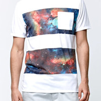 On The Byas Aries Cosmic Stripe Crew T-Shirt at PacSun.com