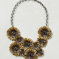 Gilded Daisies Necklace