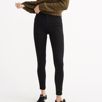 Womens High Rise Ultra Skinny Jeans | Womens Bottoms | Abercrombie.com