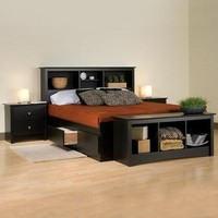 Storage Beds & Headboards   Home Living   SkyMall