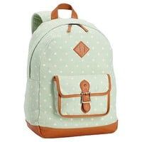 Northfield Mint Dot Backpack