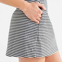 Cooperative Gingham Side-Pocket Mini Skirt | Urban Outfitters