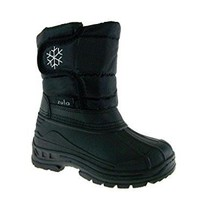 Kids BHD-01K Quilted Waterproof Snow Winter Boots
