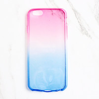 Pink Ombre iPhone Case