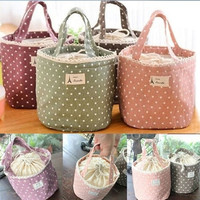 Thermal Insulated Lunch Box Tote Cooler Bag Bento Picnic Pouch Lunch Container = 1945836676