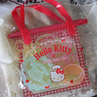 Hello Kitty COOKIE CUTTER Set - 2003 UNUSED - For Cookies,Bento and more!