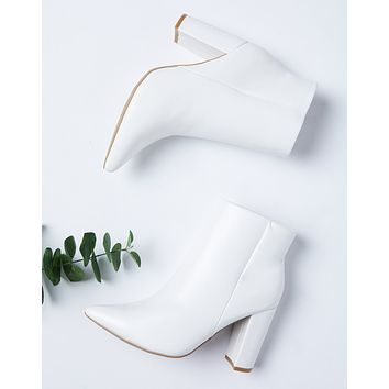Bellflower Heeled Booties