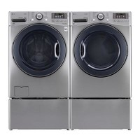 LG Electronics 7.4 cu. ft. Gas Dryer with Steam in Graphite Steel-DLGX3571V - The Home Depot