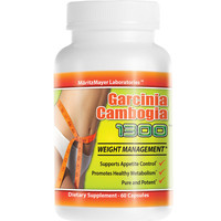 1 Pack PURE Garcinia Cambogia Extract Natural Weight Loss 60% HCA Diet Burn Fat As seen on TV