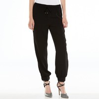 Jennifer Lopez Solid Soft Pants - Women's