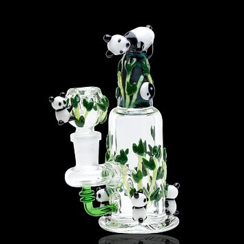 Empire Glassworks Mini Dab Rig - Climbing Pandas