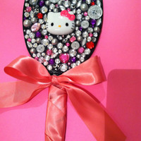 Hello Kitty Mirror by PinkBungalowBoutique on Etsy