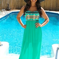 Queen of the Nile Maxi Dress