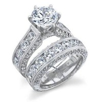 Silver Plated Wedding Rings For Women