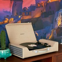 Crosley Nomad Turntable - Brown - Take your musical journey anywhere!