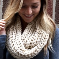 Knit Scarf-tan