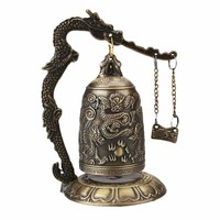 Copper Carved Chanting Bell