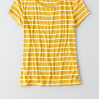 AEO Tomgirl T-Shirt , Grey   American Eagle Outfitters