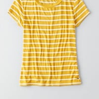 AEO Tomgirl T-Shirt , Grey | American Eagle Outfitters