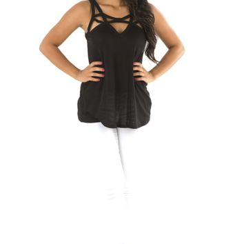 Picture Perfect Top: Black