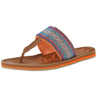 Rocket Dog Womens Peaches Woven Pattern Thong Sandals