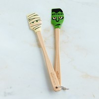 Halloween Mummy & Monster Mini Spatulas