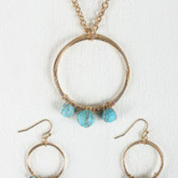 Wire Rings Necklace